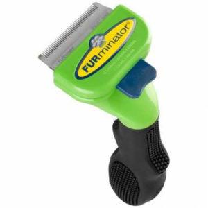 FURminator Deshedding Tool - best brush for short hair dogs