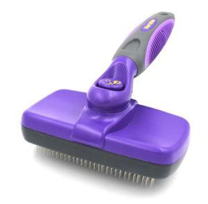 Hertzko Self Cleaning Slicker - best brush for short hair dogs