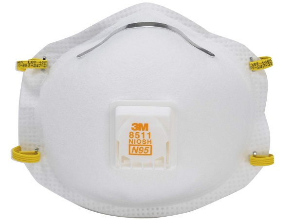 3M 8511HB1-C-PS Valved Respirator