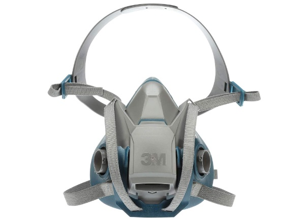 3m Rugged Quick Latch Half Face Respirator