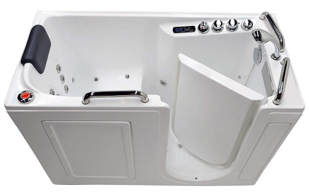 Arista Right Drain Walk-in Bathtub