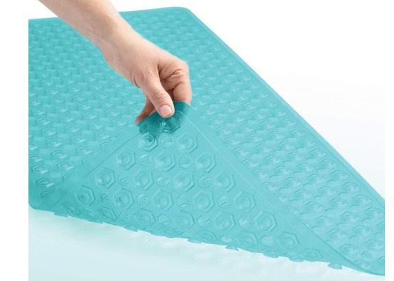 Gorrilla Grip Clear Rectangular bath mat