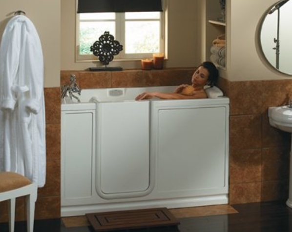 Jacuzzi EY20969 Finestra Walk-in Bathtub
