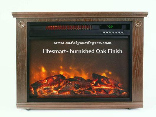 Lifesmart- burnished Oak Finish
