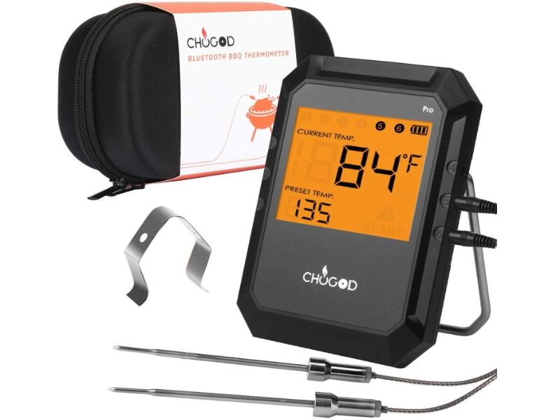 Uvistare BBQ Meat Thermometer Bluetooth
