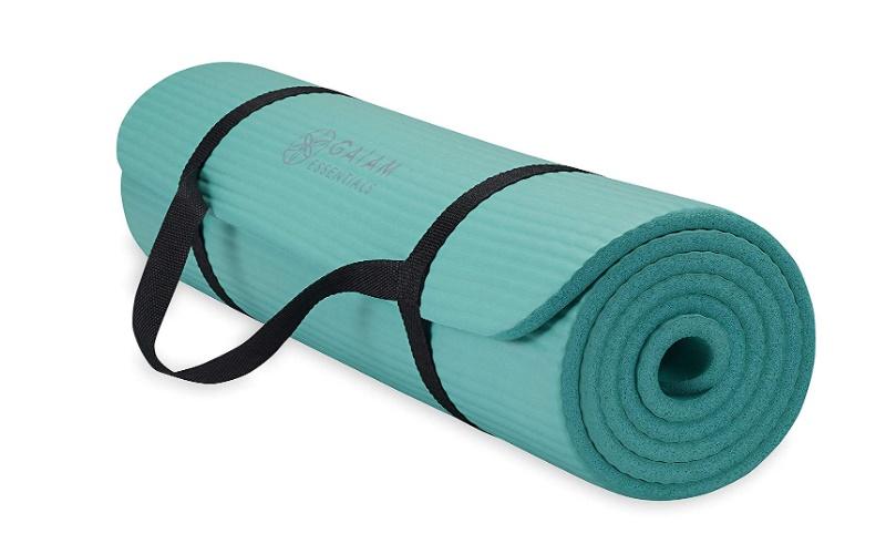 Gaiam-Essentials-Thick-Yoga-Mat