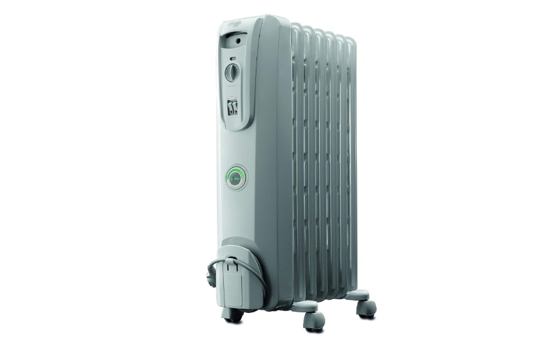 DeLonghi Oil-Filled Radiator Space Heater For Large Room