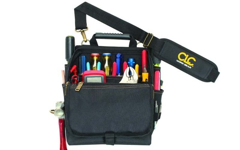 CLC Zippered Professional Electricians Tool Pouch