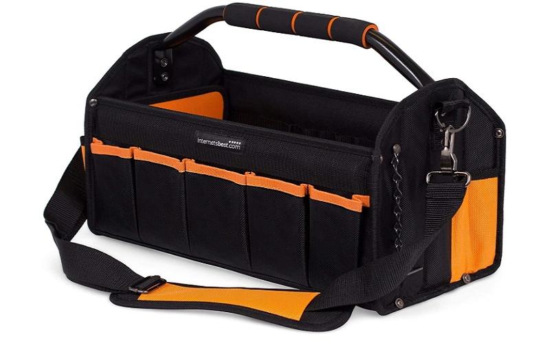 Internet's Best Open Top Electrician Tool Bag