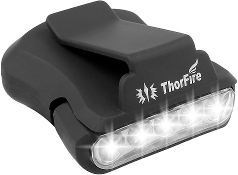 ThorFire Cap Hat Light 5-LED Headlamp