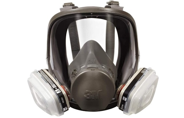 3M 7162 Full-Facepiece Spray Paint mask Respirator For Spray Painting