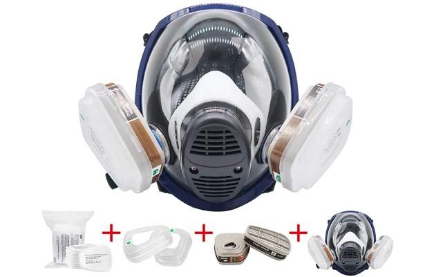 EROCK 15 in1 Full Face Respirator For Spray Painting