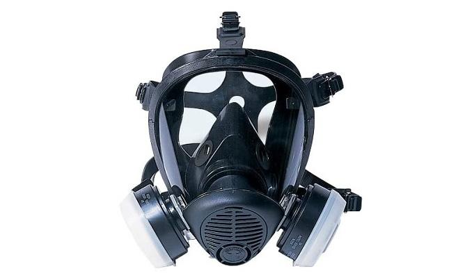 SAS Safety 7650-61 Opti-Fit Full-face APR Mask Respirator, Medium For Spray Painting
