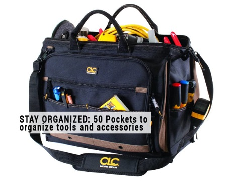 CLC 1539 Large Multi-Compartment Tool Carrier
