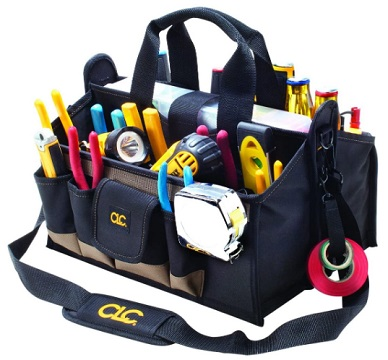 CLC Custom LeatherCraft 1529 Center Tray Tool Bag