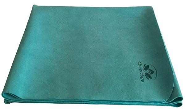 YogiOnTheGo Thin Hot Yoga Mat- Clever Yoga