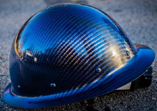 Carbon-Aramid Fiber Hard Hat