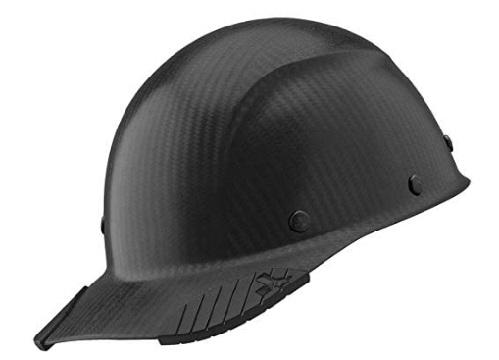 Lift Safety DAX BLACK MATTE CAP Carbon Fiber Hard Hat