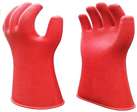 Electrical Insulated Lineman Rubber Gloves