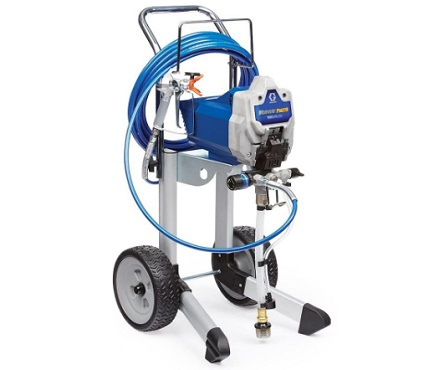 Graco 17G180 Magnum ProX19 Cart Paint Sprayer - spray paint to dry
