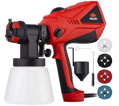 NoCry 1200ml/min- Electric Paint Sprayer - spray paint to dry