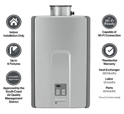 Rinnai RL Series HE+ RL94IN Tankless Water Heater