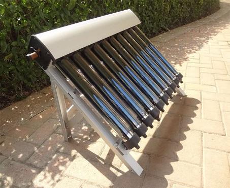 Solar Tankless Water Heater