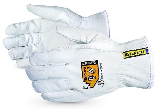 Superior Goatskin Leather Work Gloves