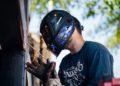 Optrel welding helmet