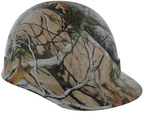 Rugged Blue Custom Hydro Dipped Next Camo Vista Hard Hat Cap