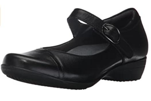 Dansko Women's Fawna Mary Jane - Comfortable Womens Dress Shoes For Work
