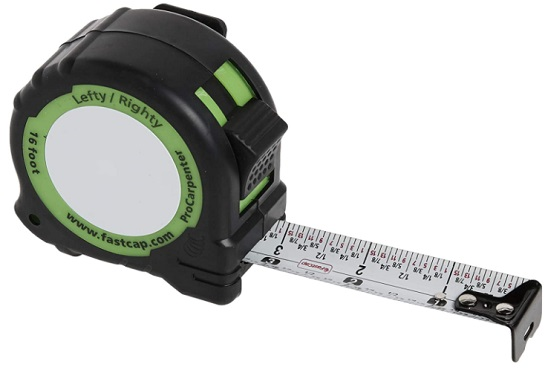 FastCap PSSR16 16 - how to read a tape measure