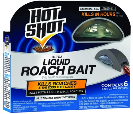 Hot Shot HG-95789 Roach Killer, how to get rid of roaches overnight,