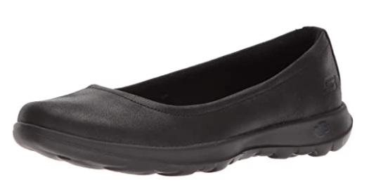 Skechers Go Walk Lite-15395 Ballet Flat Women's Waterproof Walking Shoes For Travel