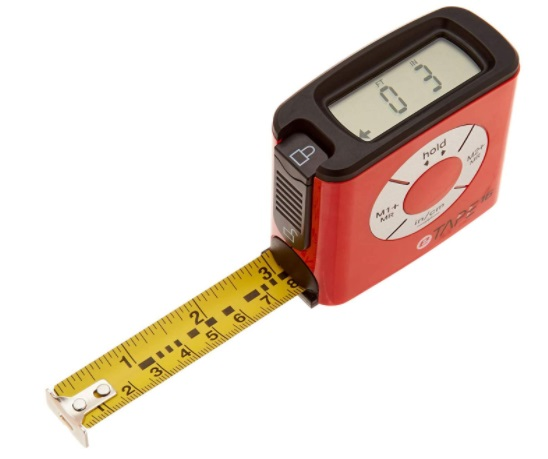 eTape16 ET16.75-db-RP Digital Tape Measure - how to read a tape measure