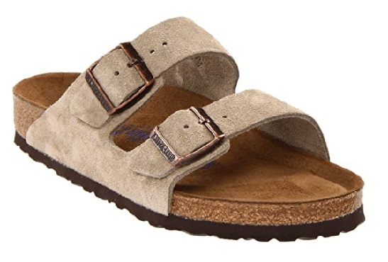 Birkenstock Unisex Arizona Leather Most Comfortable Sandals for Problem Feet
