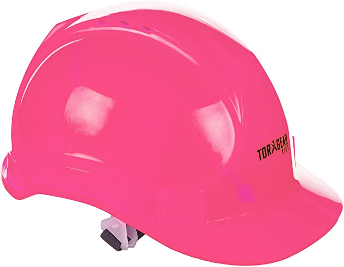 Child's Pink Hard Hats