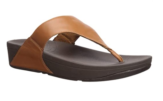 FitFlop Women's Lulu Thong Most Comfortable Sandals for Problem Feet