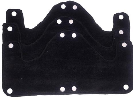 Black BIG Sweatband