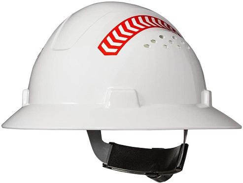 Coast SH300 Full Brim Safety With Reflective Arrows