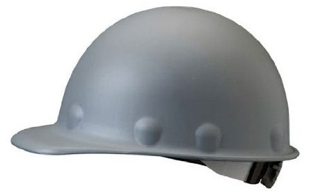 Fibre-Metal Roughneck Gray Fiberglass Cap Style