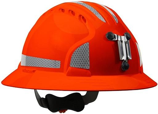 JSP 280-EV6161MCR2-OR Evolution Deluxe 6161 Full Brim Mining Hard Hat