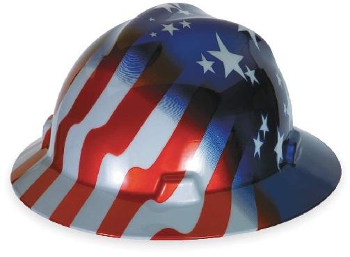 MSA (Mine Safety Appliances) 10071157 V-Gard Freedom Series Class E Type I Hard Hat