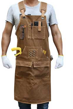 Briteree Woodworking Aprons for men