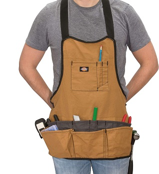 Dickies 16-Pocket Workshop Bib Apron