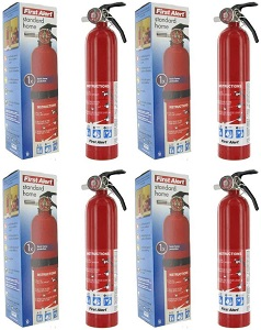 First Alert 2.5 Rechargeable Fire Extinguisher