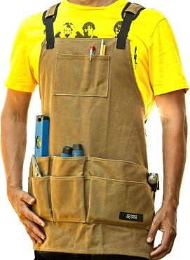 WirtaWork Woodworking Aprons for men and women