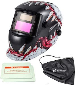 iMeshbean-Auto-Darkening-Grinding Cool welding helmets