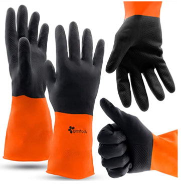 Gastody chemical resistant gloves To Protects Hands From Hazardous Chemicals