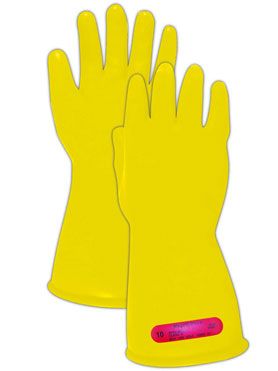 Magid Glove & Safety M-0-11-Y-7 Magid Class 0 type of gloves to protect yourself from electrical sparks
